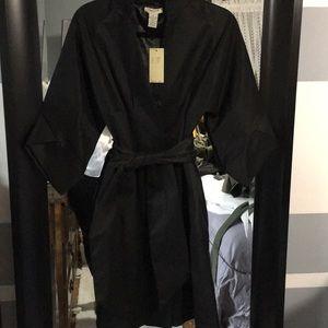 Unique Vertigo Paris Trench Blazer Coat NWT